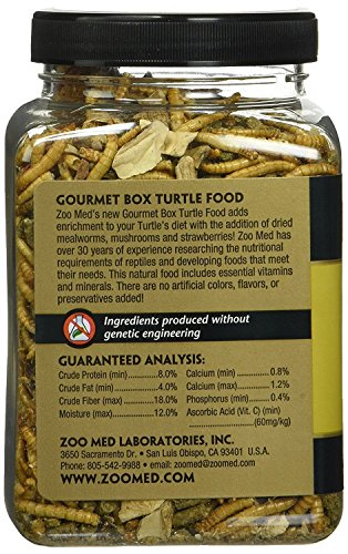 Image of Gourmet Box Turtle Food Net Wt 8.25oz (254g) (2 Pack)