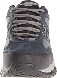 Skechers Men\'s Work Relaxed Fit Soft Stride Grinnel Comp, Navy/Gray - 11 D(M) US