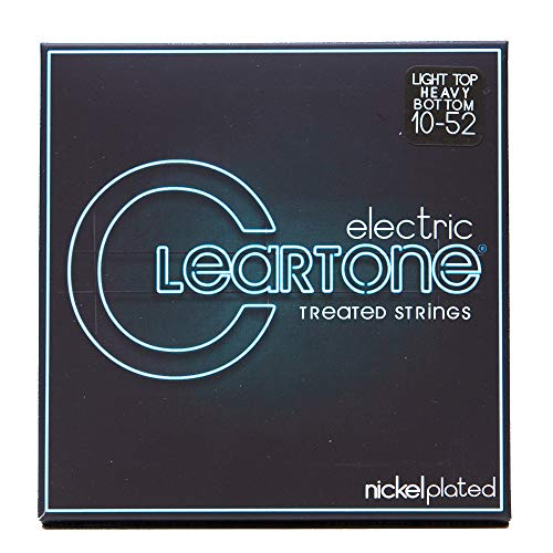 Cleartone Electric .010-.052 Light Top Heavy Bottom Strings (Cleartone Guitar Strings)