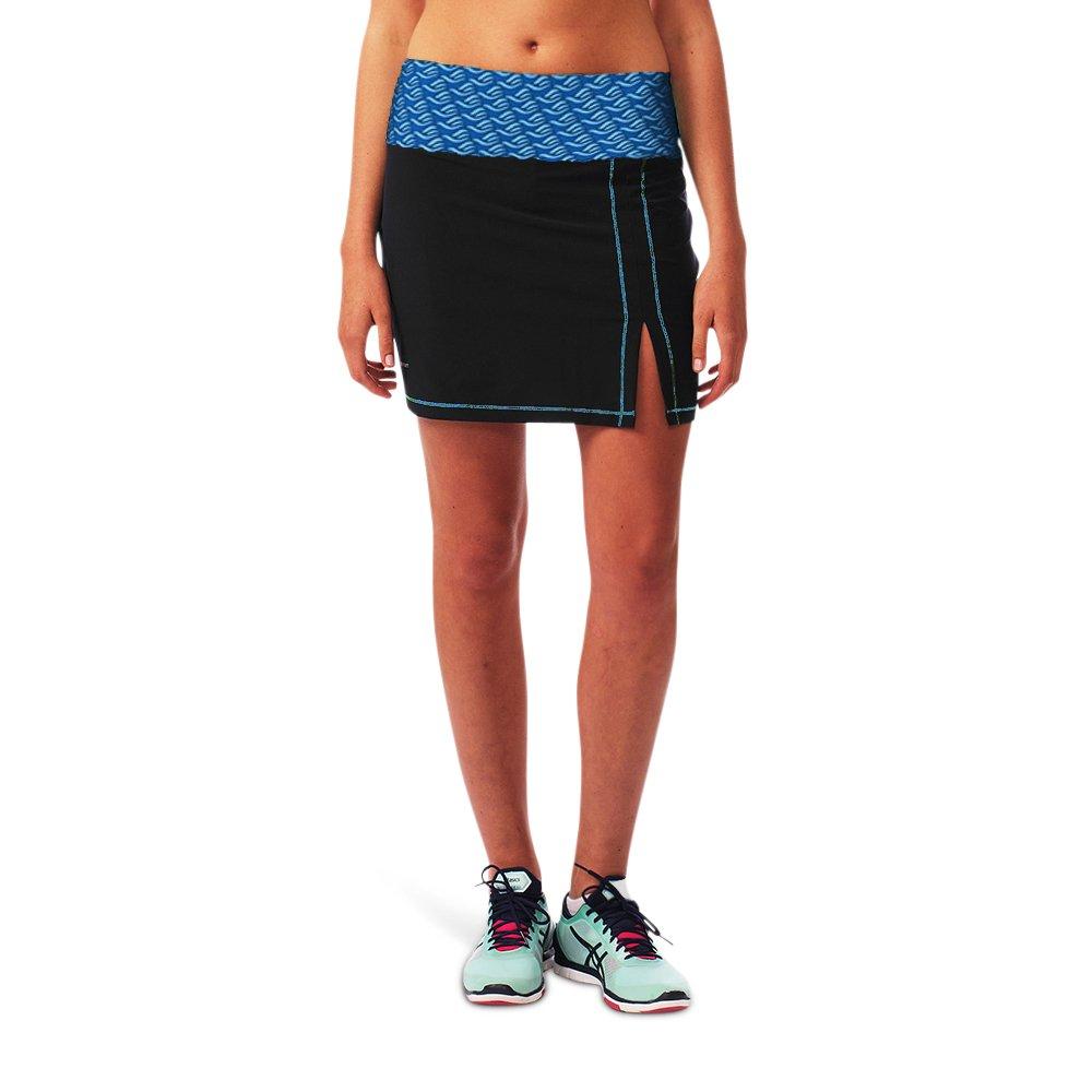 Gracedbygrit Women's Hiking Skirt, Navy/Blue, Medium