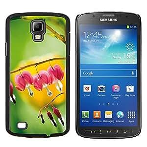 Caucho caso de Shell duro de la cubierta de accesorios de protección BY RAYDREAMMM - Samsung Galaxy S4 Active i9295 - Planta Naturaleza Forrest Flor 109