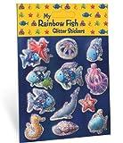 My Rainbow Fish Glitter Stickers