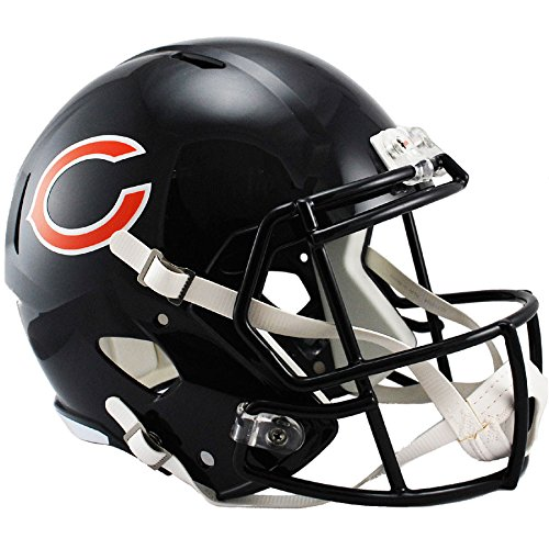 (Riddell Chicago Bears Officially Licensed Speed Full Size Replica Football Helmet)