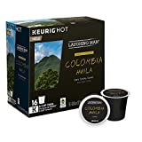 Laughing Man Colombia Huila Coffee Keurig K-Cups, 16 Count