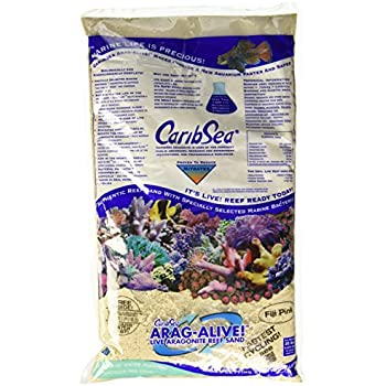 CaribSea Arag-Alive 20-Pound Fiji Pink Sand