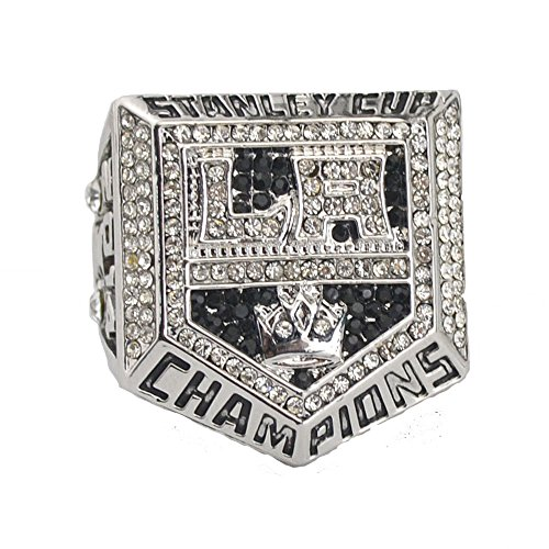 YIYICOOL fans' collection 2014 Los Angeles Kings Stanley Cup Championship ring size 11 High-quality Replica