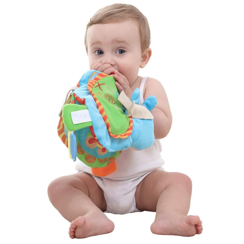 B Baosity Livre Tissu B/éb/é Enfant Intelligence Cognitive Education Jouet Animaux