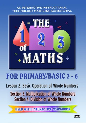The 123 of Maths : Les. 2 Basic Operation of Whole Numbers 3 & 4[NON-US FORMAT, PAL]