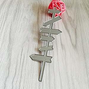 Amazon.com: Troqueles de corte de metal, plantillas para ...