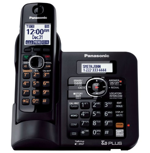 Panasonic DECT 6.0 Cordless Phone with Anwering System