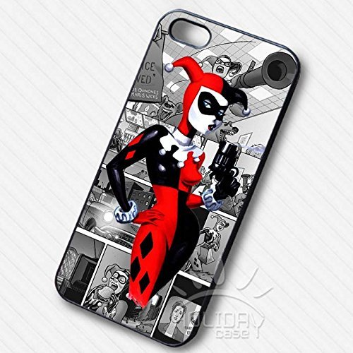 Harley Quinn Masked Girl pour Coque Iphone 7 Case I7Z8RX