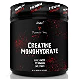Brutal Formulations Ultra Pure Creatine Monohydrate 30 Servings - for Lean Mass and Strength