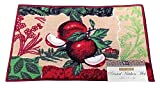 Kitchen Rugs Apple Design Fashion Non-Skid Home, Kitchen, Floor Mat, Comfortable Standing mat, Entrance Rug, 17