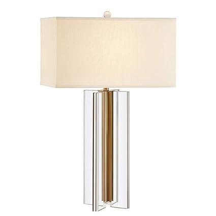 Lámpara de Noche Moderna China Cruzada de Cristal Dorado ...