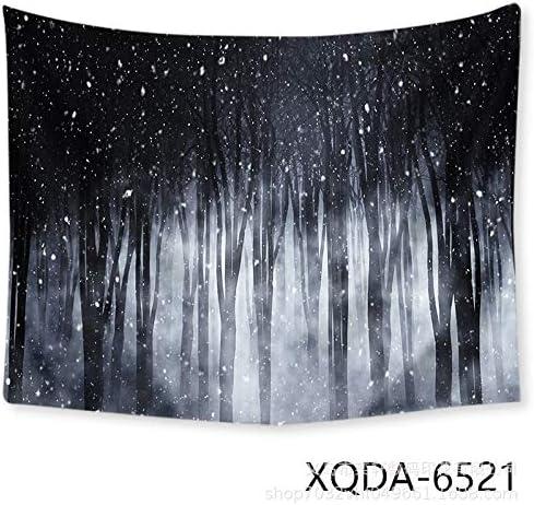 zhangkaixiang Resaca del Bosque Negro Tapiz Decorativo Estrellado ...