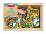 Melissa & Doug Magnetic Wooden Animals