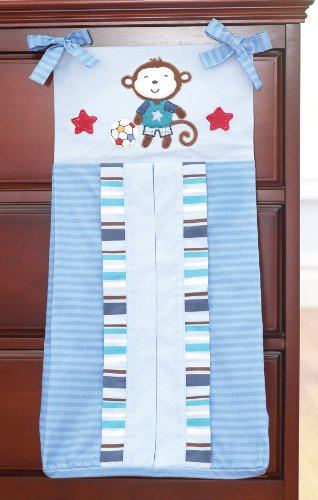 (Summer Infant Diaper Stacker, Team Monkey)