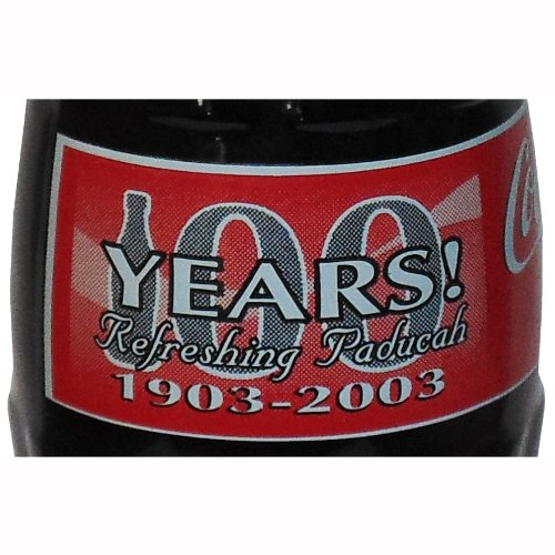 Paducah KY Bottling 100th Anniversary Coca-Cola Bottle 2002 from Coca-Cola