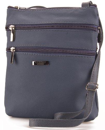Handbag Leather Navy 3738 1 Lorenz 5UwO7qzn