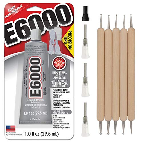 E6000 1-Ounce Tube with Precision Tips Industrial