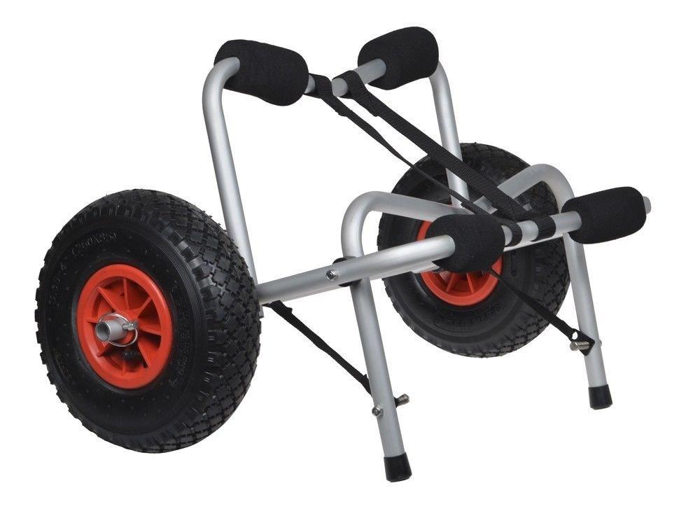 Kayak Dolly Transport Cart Capacity 150 LBS w/ Double Leg Kickstands