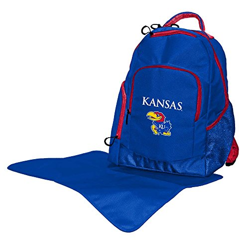 Lil Fan Diaper Backpack Collection, Kansas Jayhawks (Kansas Jayhawks Backpack)
