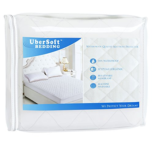 Waterproof Hypoallergenic Mattress Pad Protector Quilted
