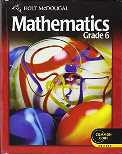 Holt McDougal Mathematics: Student Edition Grade 6 2012: HOLT ...