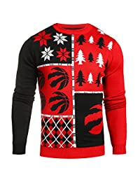 Forever Collectibles NBA Toronto Raptors Mens Busy Block Sweater