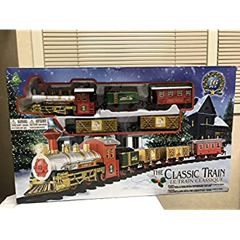 the classic train electric christmas tree train set - Christmas Tree Train Set
