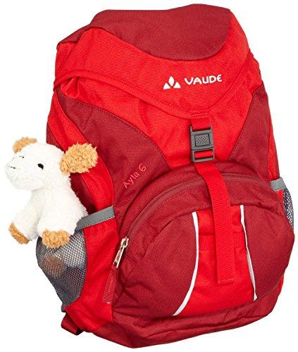Vaude Unisex - Kinder Rucksack Ayla, 6 Liter Rot