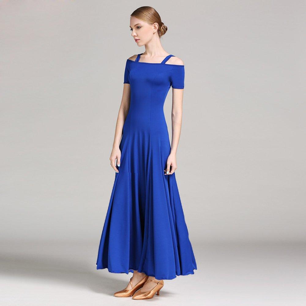 バーゲンで 現代の女性ストラップ半袖大きな振り子モダンダンスドレスタンゴとワルツダンスドレスダンスコンペティションスカートダンスコスチューム XXL|Blue B07HHXBCD2 XXL XXL|Blue Blue Blue XXL, 洋服寸法直し袖丈詰めのgrandmagic:da5af633 --- a0267596.xsph.ru