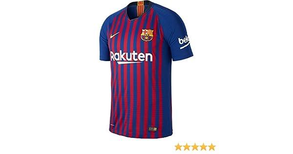 c191c5061 Amazon.com   Nike Barcelona Home Vapor Match Jersey 2018 2019   Sports    Outdoors