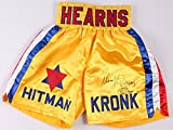 Tommy Hearns Signed Boxing Trunks PSA/DNA Itp