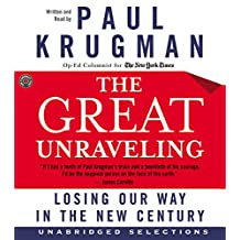 The Great Unraveling CD: Losing Our Way in the New Century