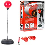Free Standing Boxing Gloves Punch Bag Speed Ball Training Punching Stand Gym