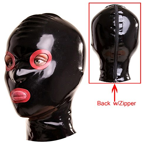 hood with eye and mouth holes - 7