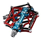 RockBros Mountain Bike Pedals Platform Cycling Sealed Bearing Alloy Flat Pedals 9/16""