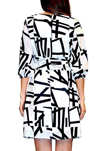 Print 100 Seide Kleid Bruna Pires Milano Ana Frau Kader cyS1qB0xAw