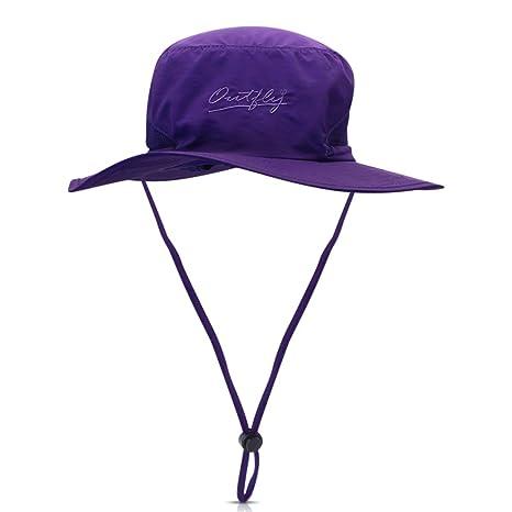 DORRISO Uomini Donne Cappello da Pesca Cappello da Sole Protezione UV  UPF50+ attività Escursionismo Arrampicata All b29c568fa52f