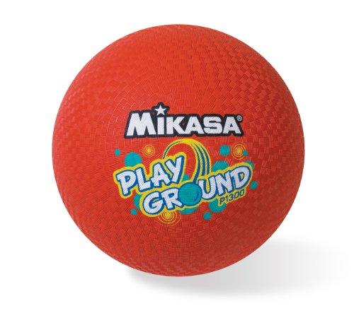 Mikasa Playground Ball (Red, (13 Inch Playground Ball)