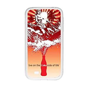 Happy Drink brand Coca Cola fashion cell phone case for samsung galaxy s4