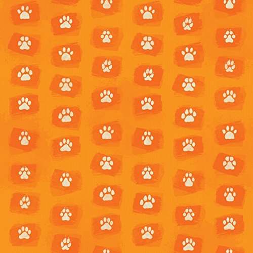 KAREN FOSTER Scrapbooking Paper, 25 Sheets, 12 x 12-Inches Paw Prints