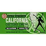 3 BOXES CALIFORNIA DIETERS' DRINK EXTRA STRENTH TEA 1.76 OZ.