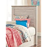 Signature Design by Ashley B267-53 Willowton Headboards, White Wash