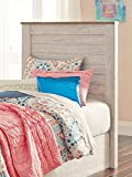Signature Design by Ashley B267-53 Willowton headboards, White Wash For Sale