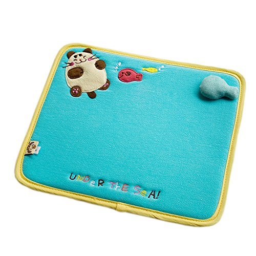 [Under The Sea] Embroidered Applique Fabric Art Mouse Pad / Mouse Mat / Mousing Surface (10.3*8.8)