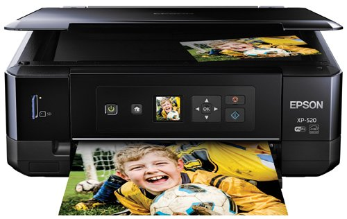 Epson Expression Premium XP-520 Wireless Color Photo Printer with Scanner and Copier by Epson