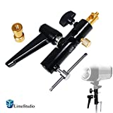 umbrella bracket photography - LimoStudio Light Stand Mount Bracket with Umbrella Reflector Holder & 1/4