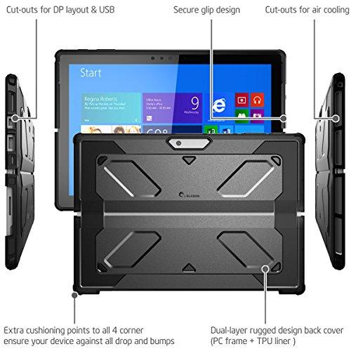 The New Surface Pro 2017 Case Heavy Duty I Blason